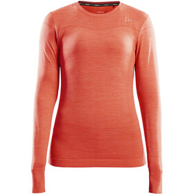 Craft Fuseknit Comfort Roundneck LS Top Women, trace